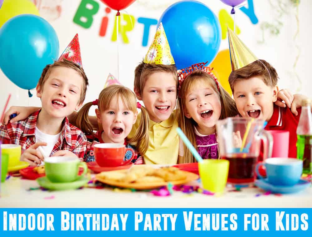 Top indoor birthday venues for kids tallahassee times for Indoor party places for kids