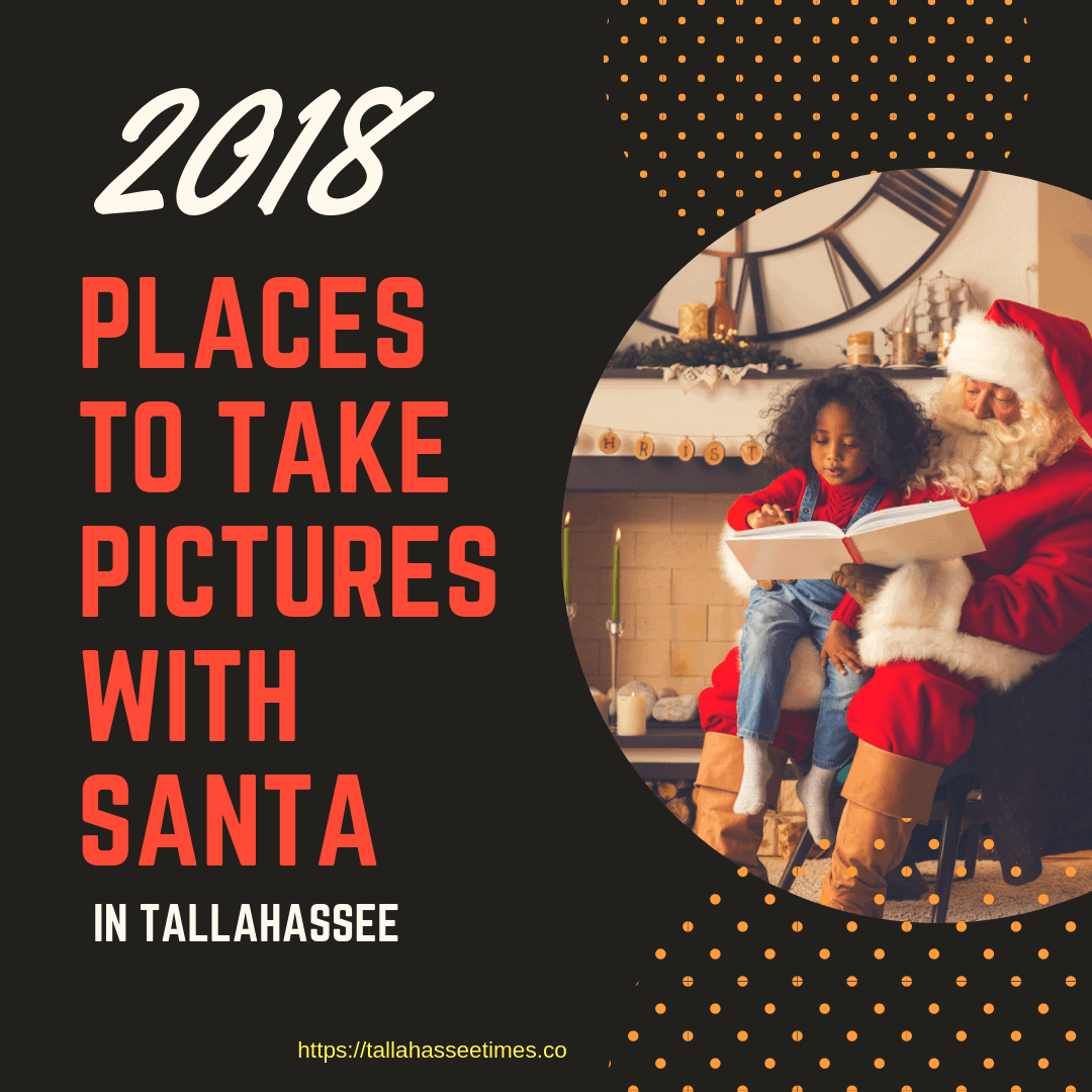 Places to Take Pictures with Santa